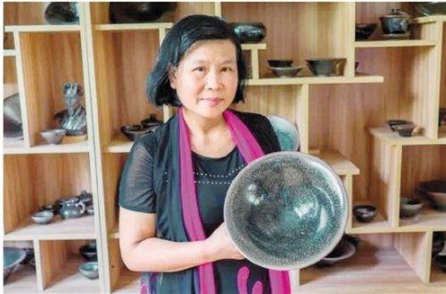 建盏师傅阙梅娇——光环加身的女建盏人