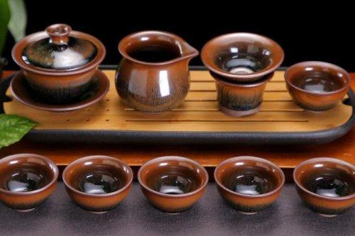 建盏如何泡茶,现代建盏泡茶的美学鉴赏