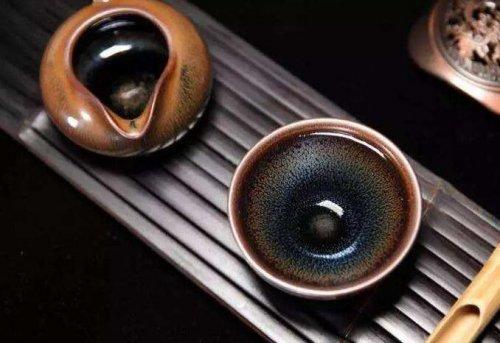 建盏的收藏价值,长期使用建盏喝茶的好处
