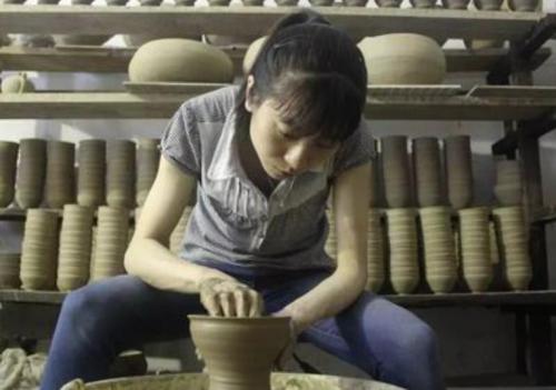 建盏省级非遗传承人——孙莉,造诣极深的建盏女匠人