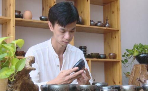 建盏名匠——蔡龙,百花建盏烧制代表传承人